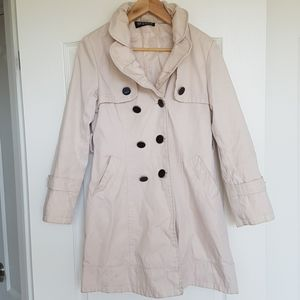 2/$20 women black buttons coat jacket size small